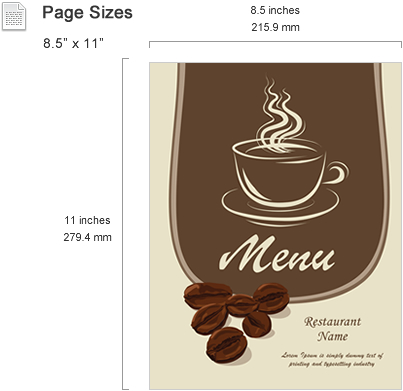 Free Menu Template Microsoft Word from es.smiletemplates.com