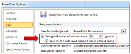 Can Unsaved Files in PowerPoint 2010 Be Recovered?