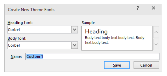 PowerPoint Presentations – Changing Fonts In Your Theme