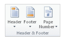 MS Office 2007-2010 – Adding Images To Footers And Headers