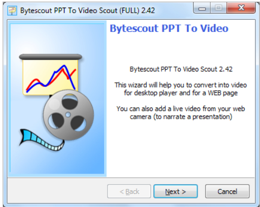 Recording Your Webcam Video While Converting PowerPoint Presentation