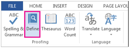 Microsoft Word – Where Can You Find A Dictionary
